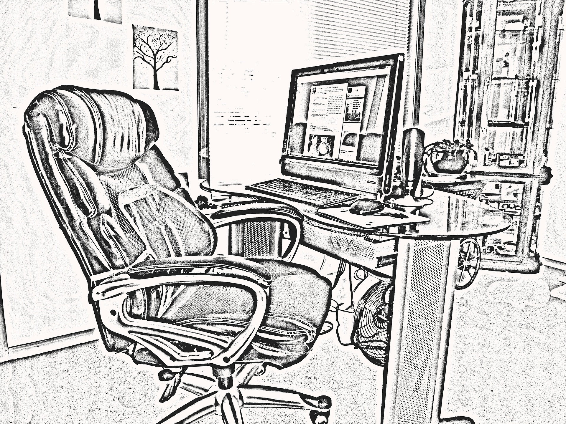 Voordelen van een goede bureaustoel