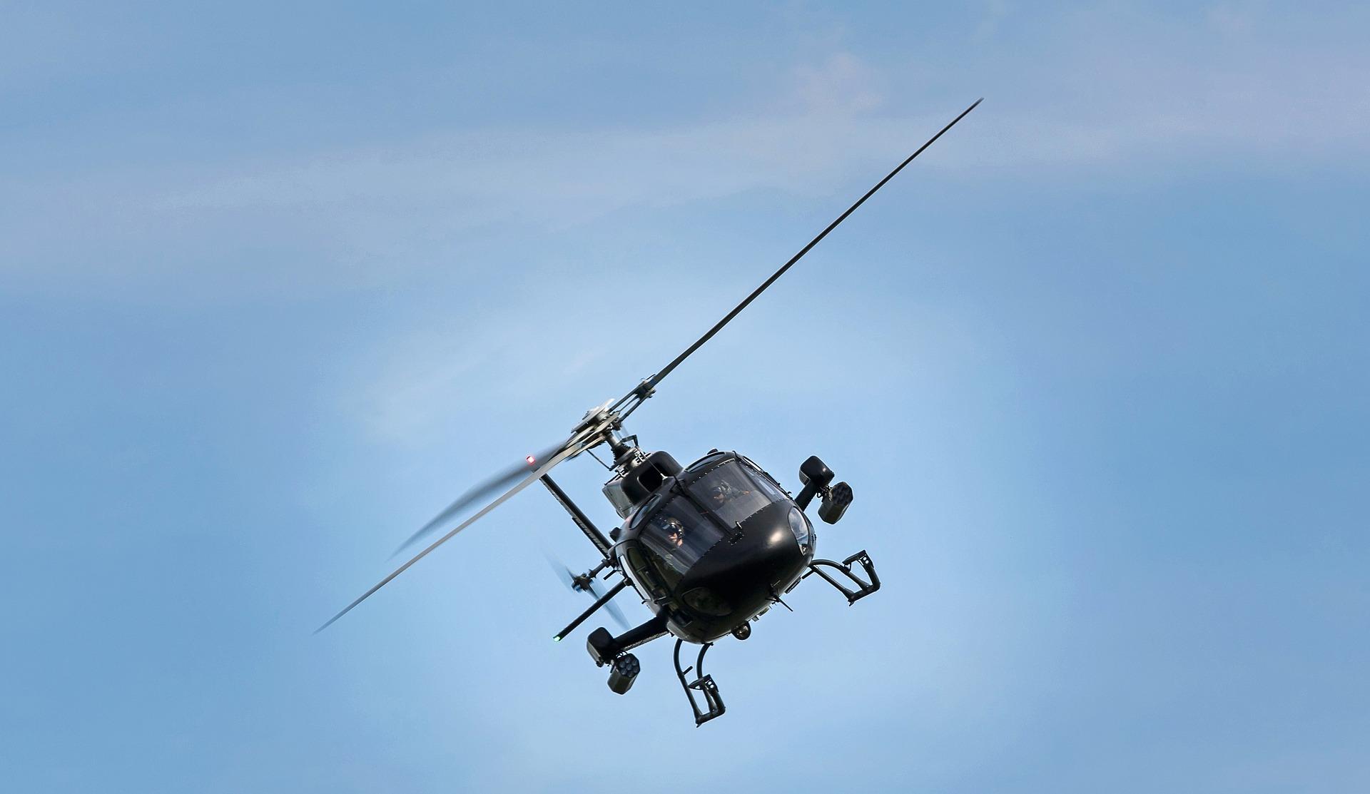 Een gaaf zakelijk cadeau: vliegen in een helikopter!
